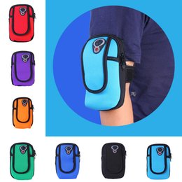 armband sports bag case pouch Canada - Universal Waterproof Sweatproof Outdoor Sports Running Armband Bag Shockproof Cover Case Mobile Phone Pouch for iPhone 4-6 inch Pack