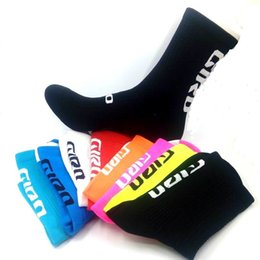 Bike cylinder online shopping - Riding Socks Bike Team Professional Competition Unisex Autumn And Winter Warm Deodorant High Cylinder Sports Socks High Quality yk F
