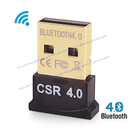 Wireless USB Bluetooth Adapter V4.0 Bluetooth Dongle Music Sound Receiver Adaptador Bluetooth Transmitter For Computer PC Laptop on Sale
