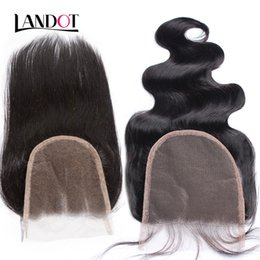Body parts chinese online shopping - 5x5 size Brazilian Virgin Human Hair Lace Closure A Peruvian Malaysian Indian Cambodian Mongolian Body Wave Straight Swiss Top Closures