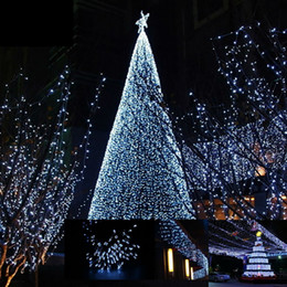 12m 100 led solar powered string light christmas tree decorative wedding birthday party outdoor home warm white fairy