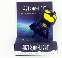 Discount batman lighting - 80pcs USB Portable Laptop LED Superhero cool Batman Night Light Lamp Emergency Table PC Computer Notebook Desktop 0001
