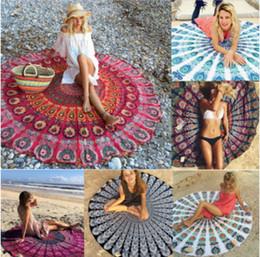 $enCountryForm.capitalKeyWord Canada - HOT SALE Round Beach Towel Mandala Beach Bikini Cover Chiffon Printed Tapestry Hippy Boho Tablecloth Bohemian Beach Towel Serviette Shaw