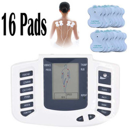 $enCountryForm.capitalKeyWord Canada - Electrical Stimulator Full Body Relax Muscle Therapy Massager Massage Pulse tens Acupuncture Health Care  Machine 16 Pads