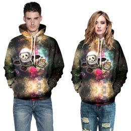 62d7dad1934 Europe 3D digital printing women hoodies cute star cat large size  tracksuits plus size sweatshirts woman fat loose couple hoodies for women