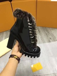 $enCountryForm.capitalKeyWord NZ - High Platform Fur Combat Boots Real leather Brand Hot Selling Fall Winter Womens Desert Boot