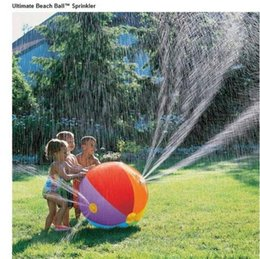 $enCountryForm.capitalKeyWord Canada - 60cm 75cm Multicolor Children Water Ball Outdoor Inflated Toy For Baby Kids Giant Sprinkler Inflatable Beach Ball Family Play Fun PVC gift
