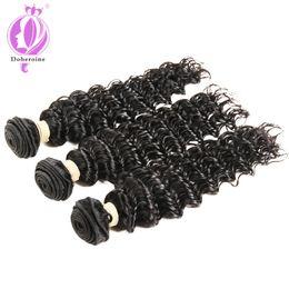 $enCountryForm.capitalKeyWord Australia - 3 Bundles Brazilian Deep Wave Virgin Hair 8-30 inch Unprocessed Human Hair Weave Extension Natural Color (100+ -5g) Pc