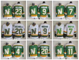a0c54bea07f ... ireland green color ccm dallas stars 4 craig hartsburg jersey throwback minnesota  north stars jerseys 9
