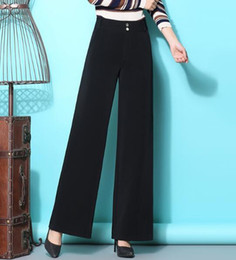 ffa57c7be7b wide leg formal pants women 2019 - Wide leg pants for women plus size high  waist