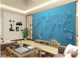 Shop world map fabric uk world map fabric free delivery to uk 3d stereo world map tv background wall murals mural 3d wallpaper 3d wall papers for tv backdrop gumiabroncs Gallery