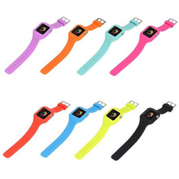 $enCountryForm.capitalKeyWord Canada - sport silicone watch Band For apple watch S1 S2 38mm 42mm smart watch Straps silicone cover case environmentally material GSZ275