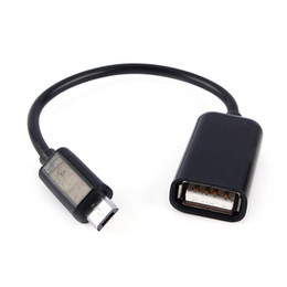 $enCountryForm.capitalKeyWord NZ - Micro USB To Female USB Host Cable OTG Mini USB Cable Adapter For Samsung Android Tablet PC MP3 MP4