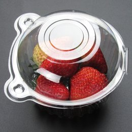 Hot Hat Clear Plastic Disposable Plastic Cake Container Cupcakes Packaging  Box Cake Box Salad Bakeware Kitchen Tool