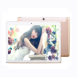 4g webcam UK - Wholesale- Tablet 10.1 Inch 4G Lte Octa Core MT6752 32GB ROM 5MP Metal 1920*1200 IPS Android 6.0 GPS Bluetooth Wifi Dual SIM Phablet