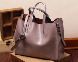 Designer Leather Canada - New Arrivals Wholesale and retail 2017 Genuine Leather Handbags womens totes shoulder bags Designer handbags Business Commuter bag