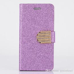 Lg diamond waLLet online shopping - For Motorola moto e4 LG Stylus Stylo Plus Wallet case Glitter Bling Flip PU Leather Diamond Rhinestone pouch Cover D