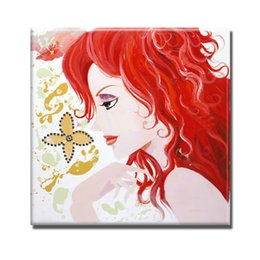 beautiful sexy cartoons NZ - Hand painted sexy hot nude picture women beautiful sex body nude paintngs for living room wall