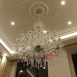 $enCountryForm.capitalKeyWord Australia - modern large crystal chandelier for foyer big crystal chandelier church hall led chandelier duplex building stairacse crystal pendant lamps