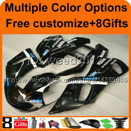 $enCountryForm.capitalKeyWord NZ - 23colors+8Gifts black Body ABS motorcycle article for Yamaha YZF-R6 1998-2002 98 99 00 01 02 YZFR6 1998 1999 2000 2001 2002 ABS fairing kit