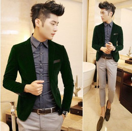 Discount Blazer Suit Men Green | 2017 Blazer Suit Men Green on ...