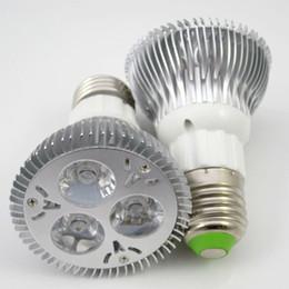 Dimmable Energy Saving Bulbs Canada - 5pcs Ultra Bright Dimmable PAR20 3x3W 5x2W LED Light Bulb Warm Cold White Light Bulb Energy-saving Light Lamp Spotlight Bulbs Lights