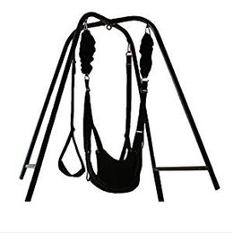 $enCountryForm.capitalKeyWord UK - 2018 New Sex Hammockwith Support Frame Elastic Bungee rope sex Swing Adult Products Swing chair Bed sex Furniture Adult Toys for Couple