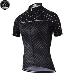 Women Customized NEW 2017 JIASHUO Polkaline Dots Bike mtb road RACE Team  Funny Pro Cycling Jersey Shirts   Tops Clothing Breathing Air d39fdbade