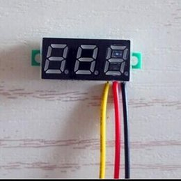 $enCountryForm.capitalKeyWord Australia - 0.28'' Mini Digital Voltmeter Red LED Display Ampere Panel Voltage Meter with three Wires DC 0-100V