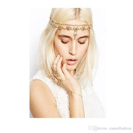 Wholesale Fashion Europe and The United States Ladies Temperament Sweet Flowers Band Headband Hoop Bride wedding Headpieces