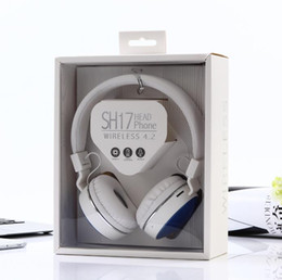 computer wireless headphone microphone Australia - SH17 Luxury Stereo Foldable Wireless Headphones with MIC Support TF Card Music Player with Microphone for Computer Mobile Phone