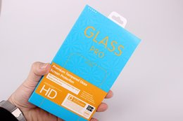 Wholesale temper class resale online - New arrival Customized Packaging for Tempered Glass Hige Class Paper Package for Apple Adrio with Laser Border