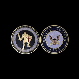 Wholesale Military Coins NZ - Free Shipping Armor of God Challenge Coin UNITED STATES MARINE CORPS Pray Always Military Souvenir Coins 10pcs