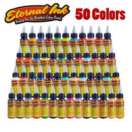 Новый Solong татуировки чернила Eter-nal татуировки чернила Набор 50 цветов 1oz 30 мл / бутылка татуировки пигмент комплект для 3D макияж красоты кожи