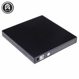 Discount laptop ide drives - Portable External Slim USB 2.0 DVD-RW CD-RW Burner Recorder IDE chip Optical Drive CD DVD ROM Combo Writer For laptop PC