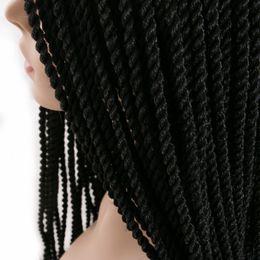 $enCountryForm.capitalKeyWord Canada - VERVE wholesale 6 piece 30 Strands pack Crotchet Braids Ombre synthetic Braiding Hair Extensions Senegalese Twist hair