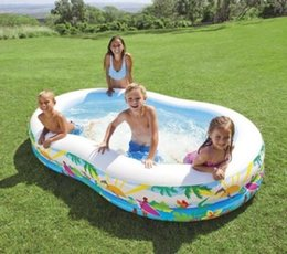 $enCountryForm.capitalKeyWord Canada - 8 Shaped Paddling Pool Inflatable Family Swimming Pool Sea Pool Household Sand Pit for Kid Child