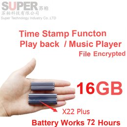 $enCountryForm.capitalKeyWord Canada - Wholesale- x22+ big battery 16GB MP3 player+ file encryption memory disk+voice recorder music player time stamp audio recorder audio player