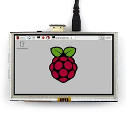 raspberry pi lcd 2020 - Freeshipping 5 Inch Raspberry Pi 3 Model B LCD Touch Screen 800x480 TFT LCD Display Panel With HDMI Connector For Raspbe