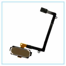 $enCountryForm.capitalKeyWord UK - Original New For Samsung Galaxy S6 Edge G925 SM-G925F Home Return Button Key Flex Cable Ribbon with finger print tough sensor flex cable