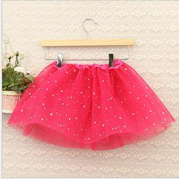 $enCountryForm.capitalKeyWord NZ - Wholesales Fashion Europe Girls Tutu Skirts Stars Glitter Princess Ball Gown Toddler Newborn Photography Props Free Shipment