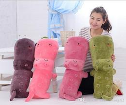 Animal Purple Doll Canada - 100cm manufacturers wholesale plush toy doll Hippo animal plush baby toys toys pillow wedding gift birthday gift