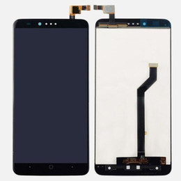 Zte touch screen online shopping - Original New Test LCD Touch Screen Digitizer Assembly For ZTE Zmax Pro Z981 Black DHL Free