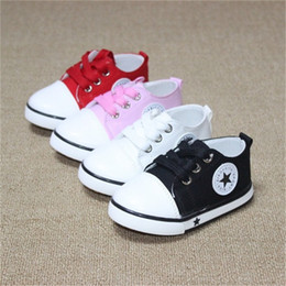 $enCountryForm.capitalKeyWord Australia - New Spring Canvas Children Shoes Baby Breathable Sport Shoe Boys And Girls Not Smelly Feet Soft Chaussure Kids Sneakers