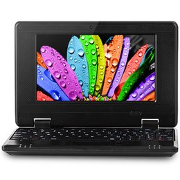Chinese  laptop 10 Inch Dual Core Mini Laptop Google Android 6.0 PC1088A3 Cortex A9 1.5GHZ HDMI WIFI 1G+8G Netbook All Color In stock Hot Sale manufacturers
