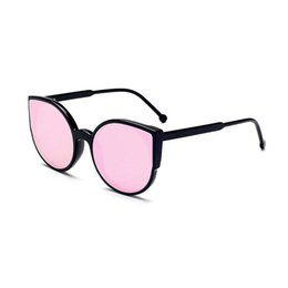 New Fashion Female Sunglasses Canada - Fashion cat eye Polarized Sunglasses Women Multicolour Mercury Mirror Glasses Men Male Female Coating Sunglass New Design Round Sunglasses