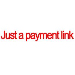 Qui non è possibile ordinare Questo è solo un link per il pagamento Si prega di capire che è solo un link per pagare