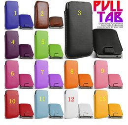 $enCountryForm.capitalKeyWord Canada - for Samsung galaxy note 2 3 4 universal pull rope holster housing cell phone cases pull-type full leather protective cover factory wholesale