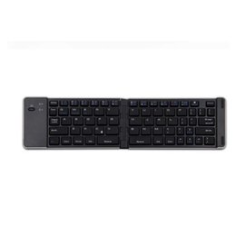 $enCountryForm.capitalKeyWord Canada - Ultra Thin Foldable Aluminum Wireless Bluetooth Keyboard for iPhone iOS Android Smartphone Tablet Laptop Universal Slim Keyboard