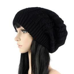 $enCountryForm.capitalKeyWord Canada - Mileegirl Fashion Women Beanies Skullies ,5 Colors Warm Stripes Knitted Gorros Bonnet Femme ,Autumn Winter Hat Cap For Girls Boys